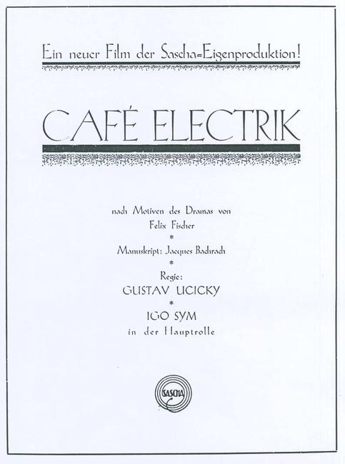Cafe Electric Photos + Posters
