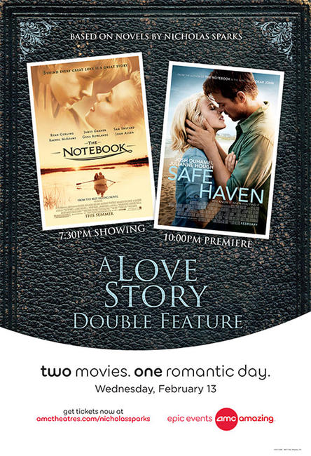 Nicholas Sparks Doubleheader Photos + Posters
