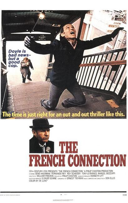 The French Connection / To Live And Die in L.A. Photos + Posters