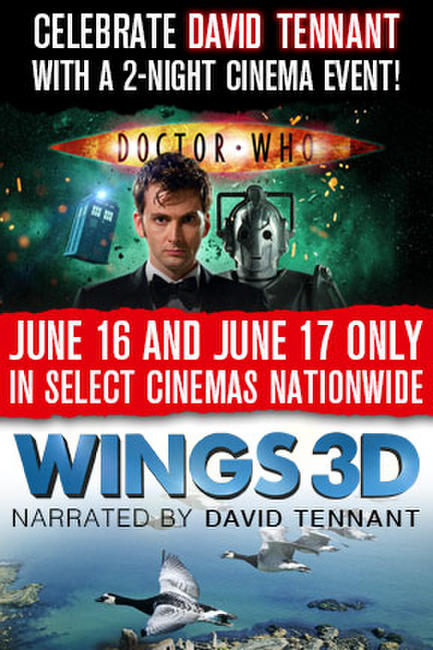 Doctor Who Cybermen + Wings 3D Photos + Posters