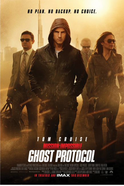 AMC Cares - Mission: Impossible - Ghost Protocol Photos + Posters
