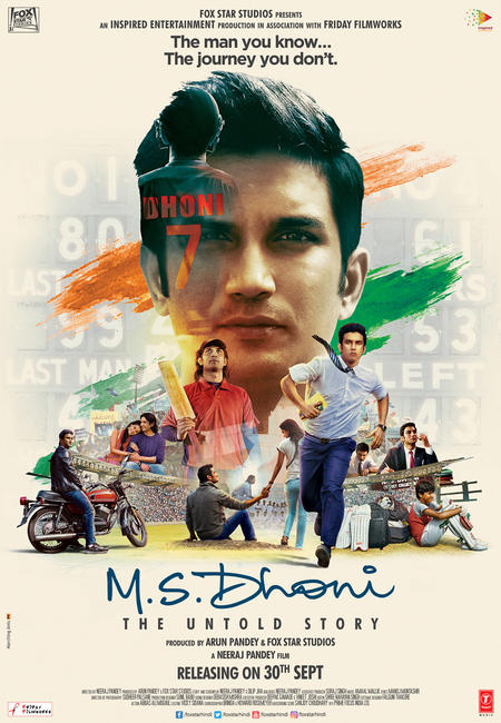 M.S. Dhoni: The Untold Story Photos + Posters
