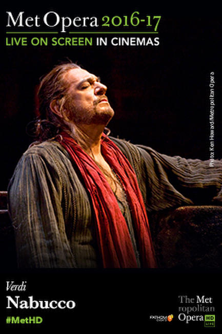 The Metropolitan Opera: Nabucco Encore Photos + Posters