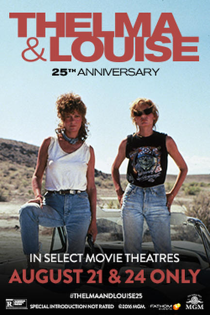 Thelma & Louise 25th Anniversary Photos + Posters