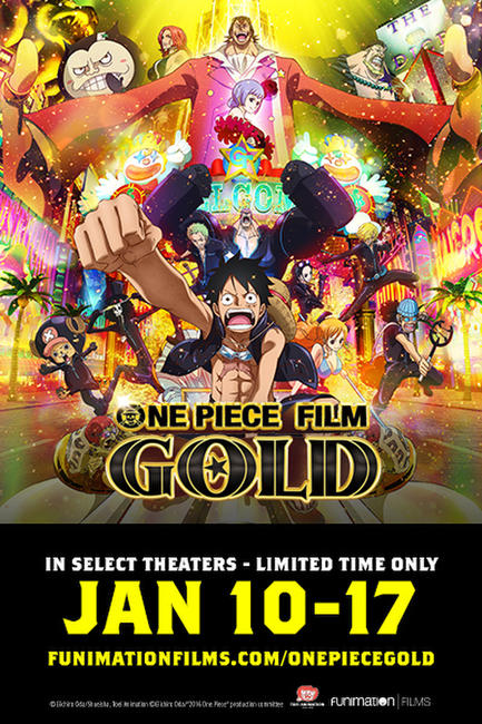 One Piece Film: Gold Photos + Posters