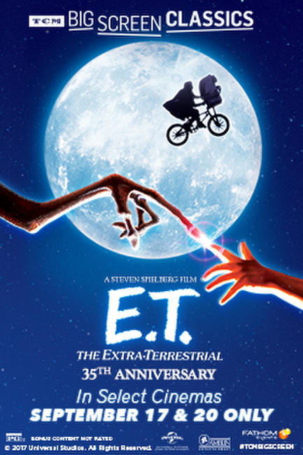 E.T. the Extra-Terrestrial (1982) presented by TCM Photos + Posters