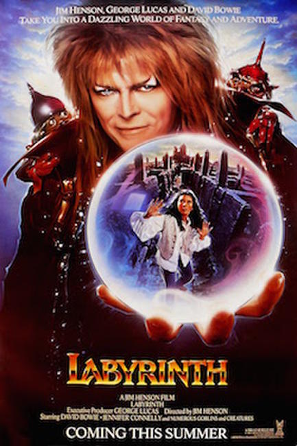 LABYRINTH/ZIGGY STARDUST AND THE SPIDERS FROM MARS Photos + Posters