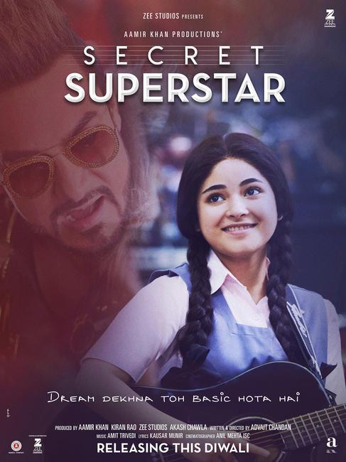 Secret Superstar Photos + Posters