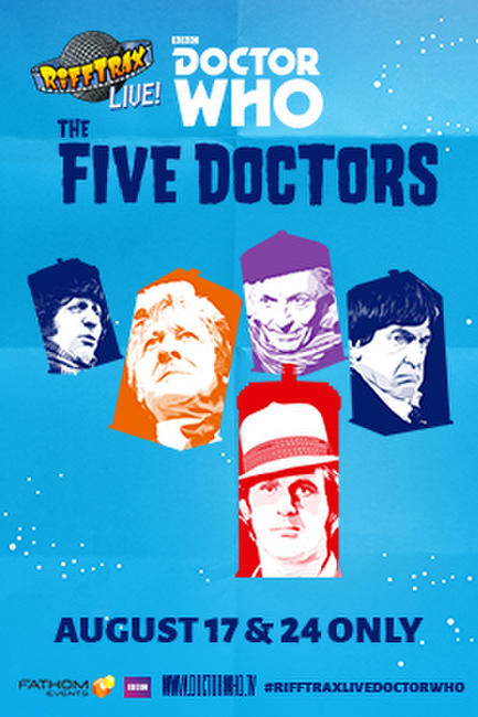 RiffTrax Live: Doctor Who – The Five Doctors Photos + Posters