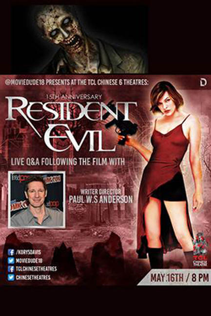 Moviedude Resident Evil Q&A Photos + Posters