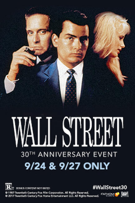 Wall Street 30th Anniversary Photos + Posters