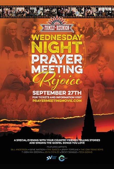 "Wednesday Night Prayer Meeting – ""Rejoice"" Photos + Posters"
