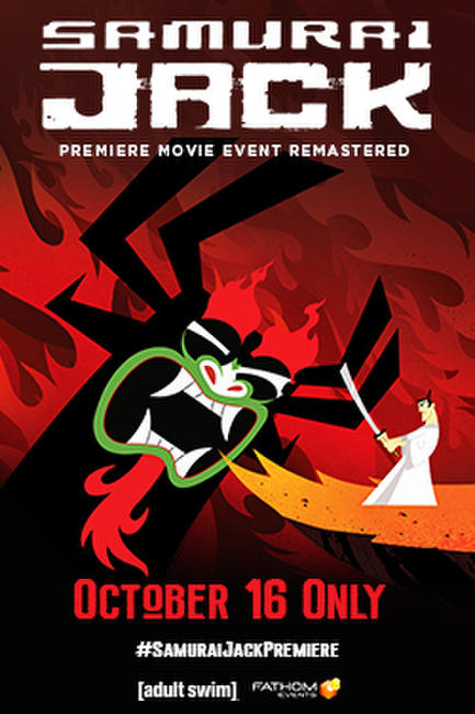 Samurai Jack: The Premiere Movie Event (Remastered) Photos + Posters