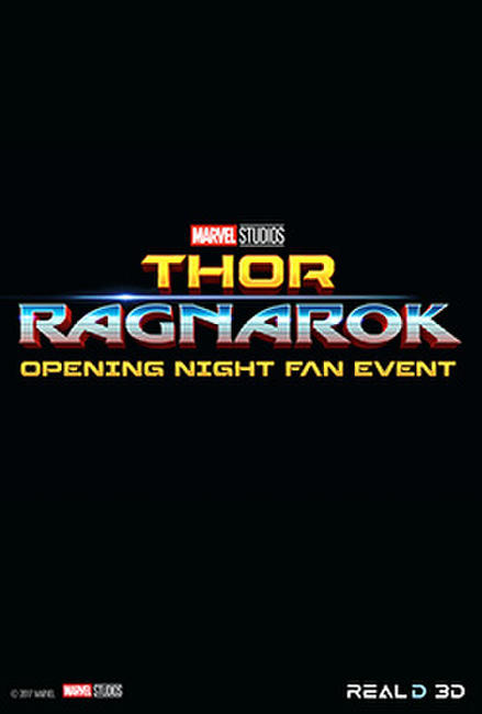 Thor: Ragnarok Opening Night Fan Event Photos + Posters