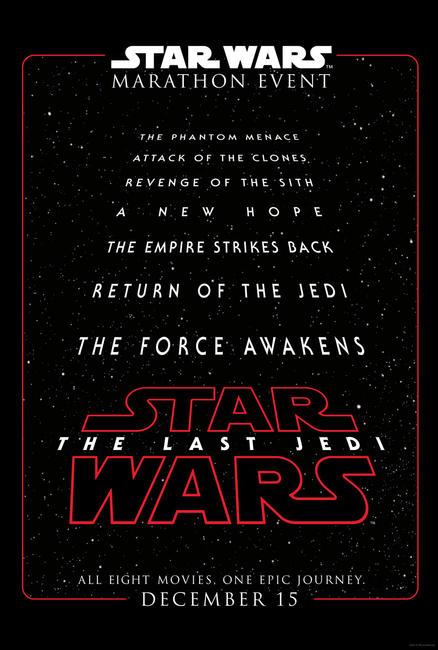 Star Wars Marathon (2017) Photos + Posters