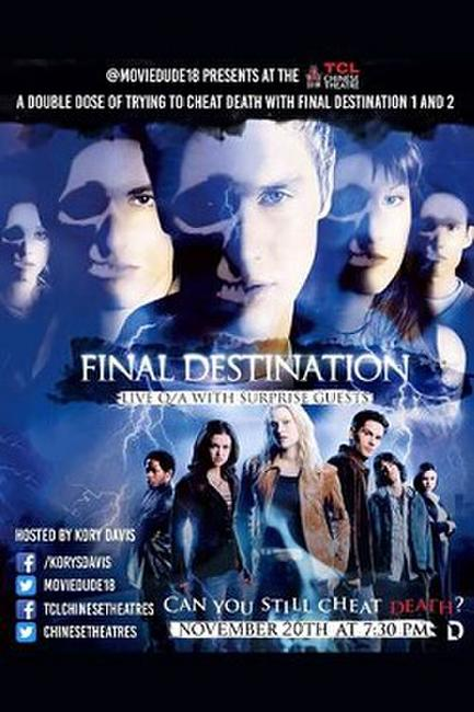 Moviedude: Final Destination Dbl Ft. w/ Q&A Photos + Posters