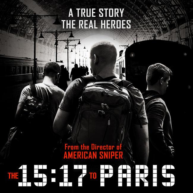 The 15:17 to Paris Photos + Posters