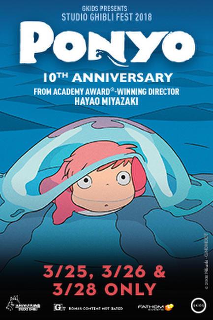 Ponyo 10th Anniversary – Studio Ghibli Fest 2018 Photos + Posters