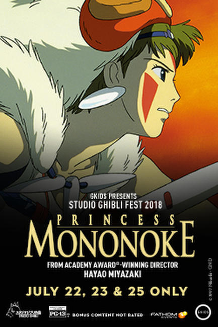 Princess Mononoke – Studio Ghibli Fest 2018 Photos + Posters