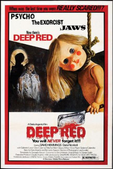 DEEP RED/BIRD WITH THE CRYSTAL PLUMAGE Photos + Posters