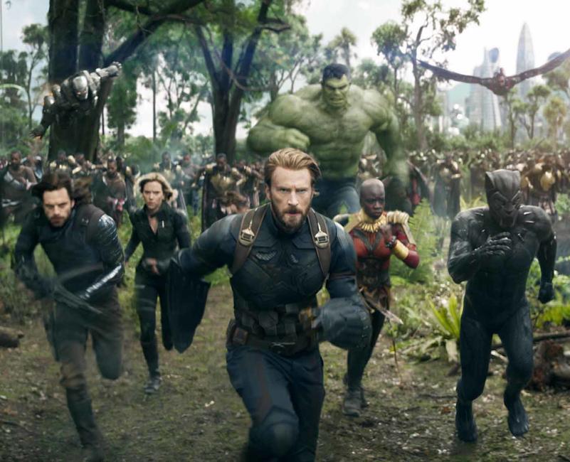 Avengers: Infinity War Marathon Photos + Posters