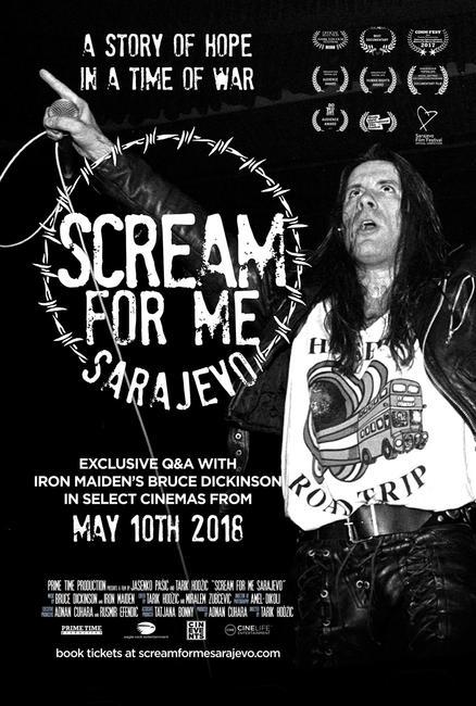 Scream for Me Sarajevo Photos + Posters