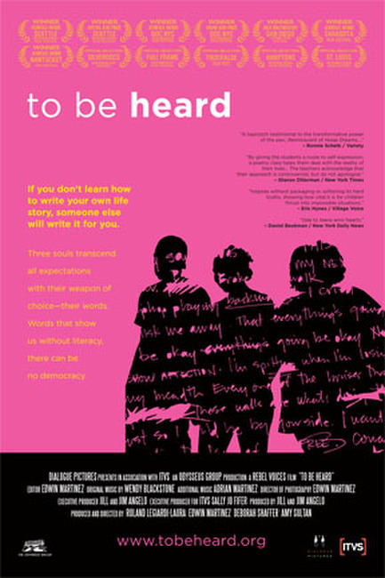 To Be Heard Photos + Posters