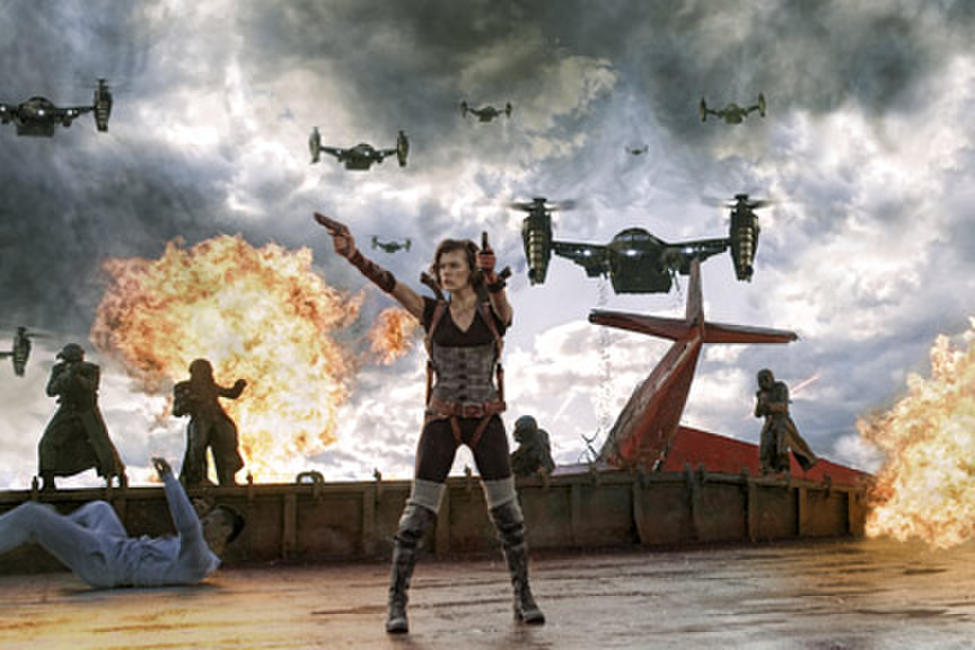 Resident Evil: Retribution Photos + Posters