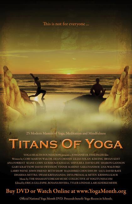 Titans of Yoga Photos + Posters
