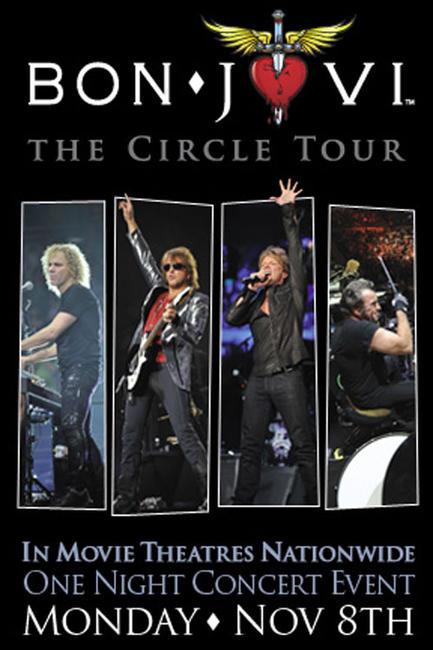 Bon Jovi - The Circle Tour Photos + Posters