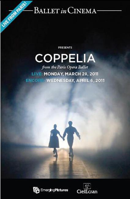 Coppelia (Paris Ballet) - LIVE Photos + Posters