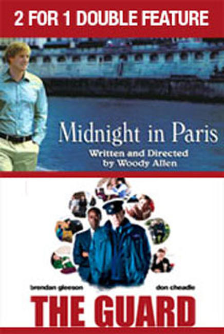 2 For 1 - Midnight in Paris / The Guard Photos + Posters