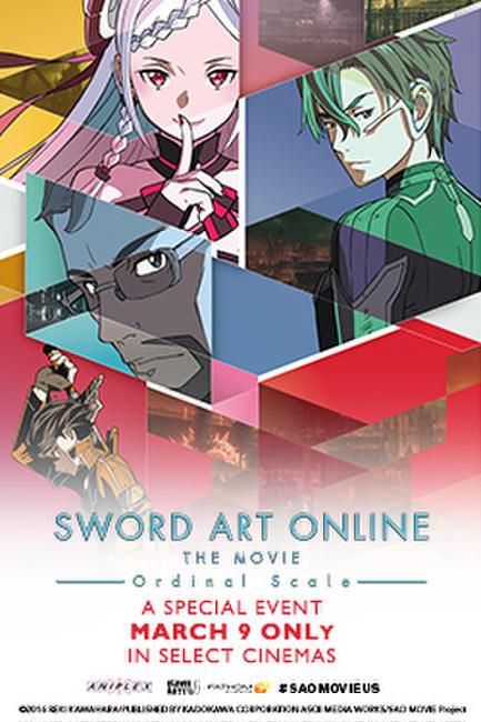 Sword Art Online The Movie - Ordinal Scale - Event Photos + Posters