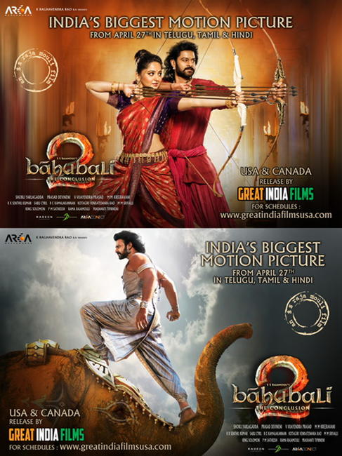 Baahubali 2 Photos + Posters