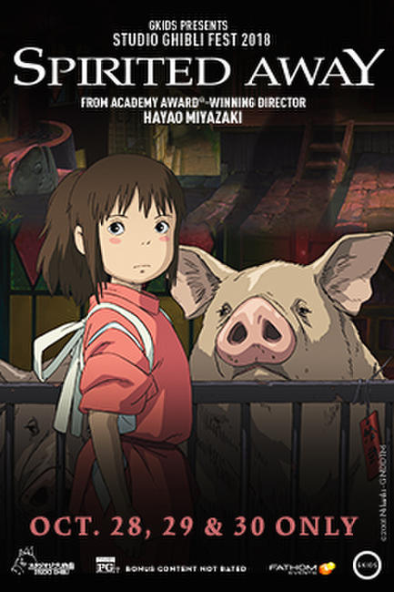 Spirited Away – Studio Ghibli Fest 2018 Photos + Posters
