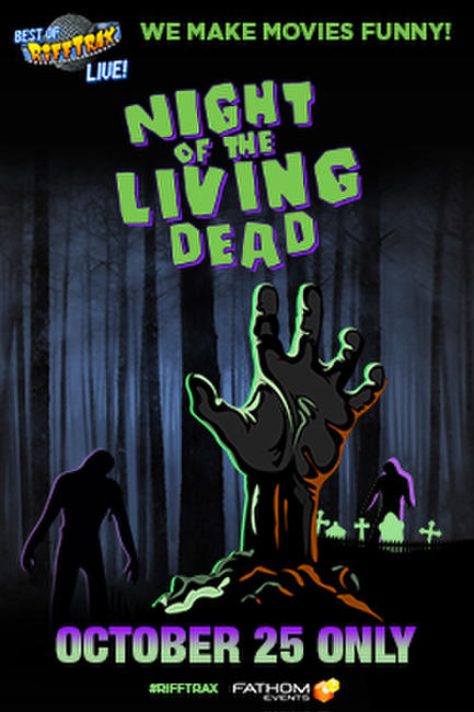 RiffTrax: Night of the Living Dead Photos + Posters