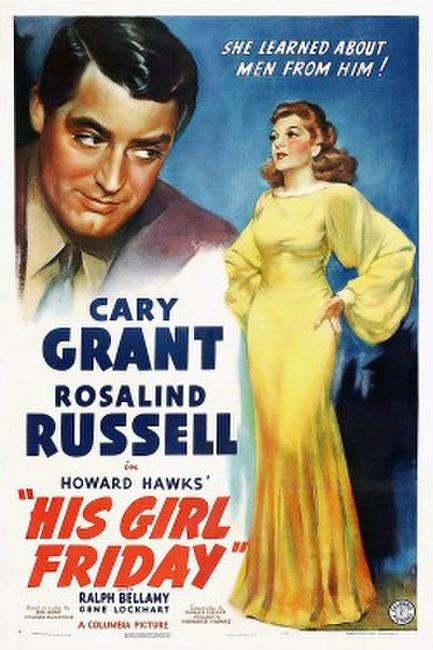 HIS GIRL FRIDAY/BALL OF FIRE Photos + Posters