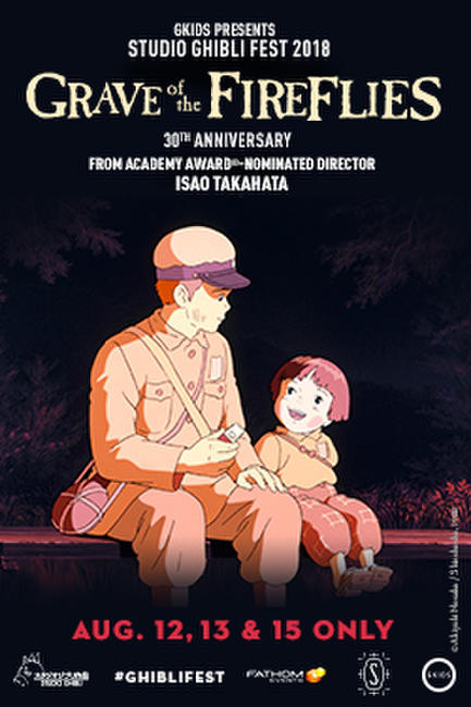 Grave of the Fireflies – Studio Ghibli Fest 2018 Photos + Posters