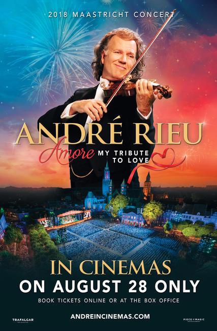 André Rieu's 2018 Maastricht Concert: AMORE Photos + Posters