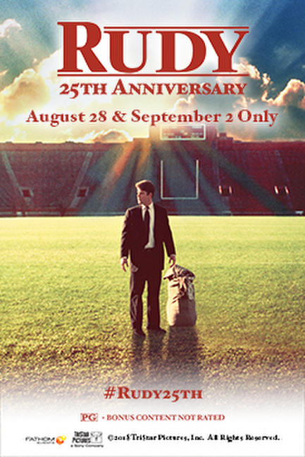Rudy 25th Anniversary Photos + Posters