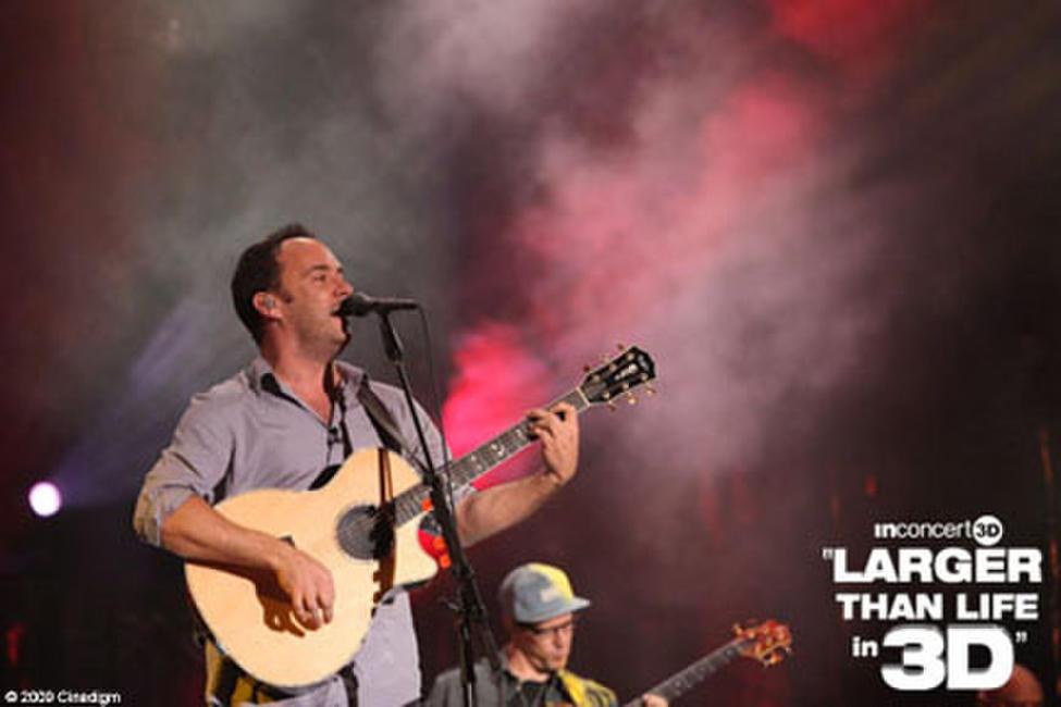 Dave Matthews in 3D: Larger than Life Photos + Posters
