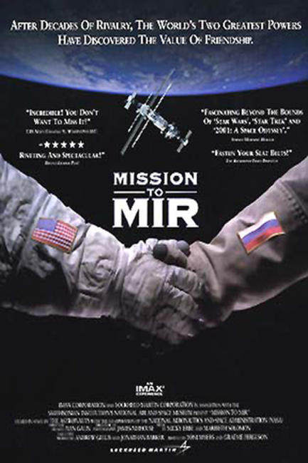 Mission To Mir - IMAX Photos + Posters