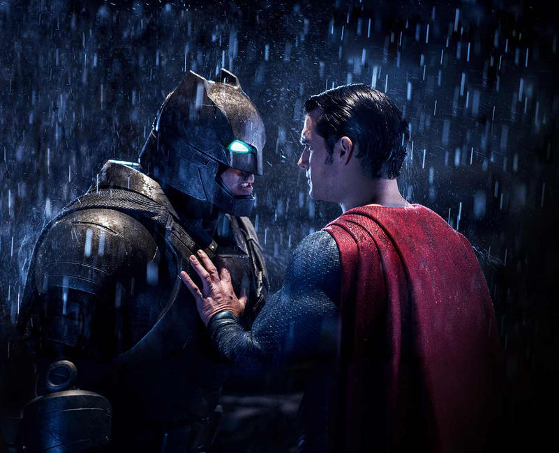 Batman V Superman Dawn Of Justice 3D Photos Posters