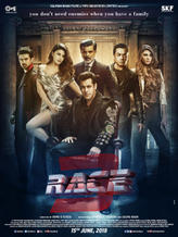 Race 3 showtimes and tickets