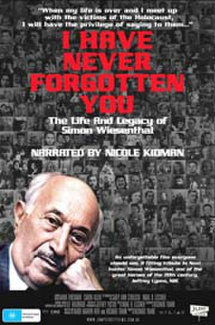 I Have Never Forgotten You: The Life & Legacy of Wiesenthal Photos + Posters
