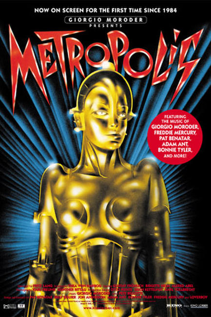 Giorgio Moroder Presents Metropolis Photos + Posters