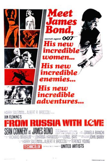 From Russia With Love / Diamonds Are Forever Photos + Posters