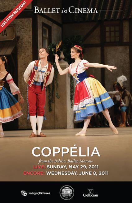 Coppelia (Bolshoi Ballet) - Encore (2011) Photos + Posters