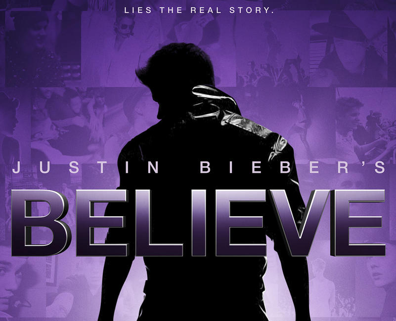 Justin Bieber's Believe Photos + Posters