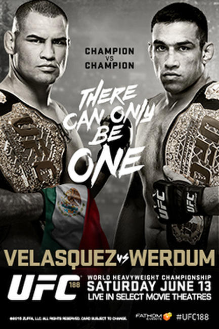 UFC 188: Velasquez vs Werdum Live Photos + Posters